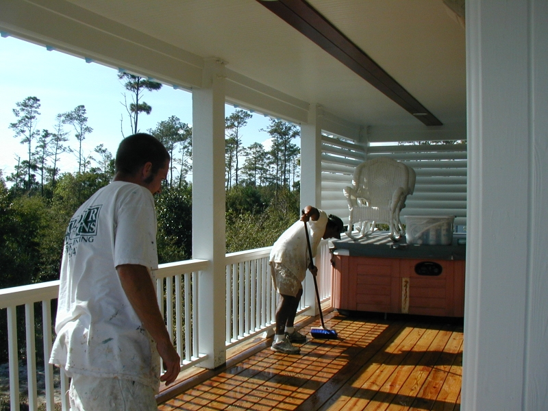 Deck Staining, Wilmington NC