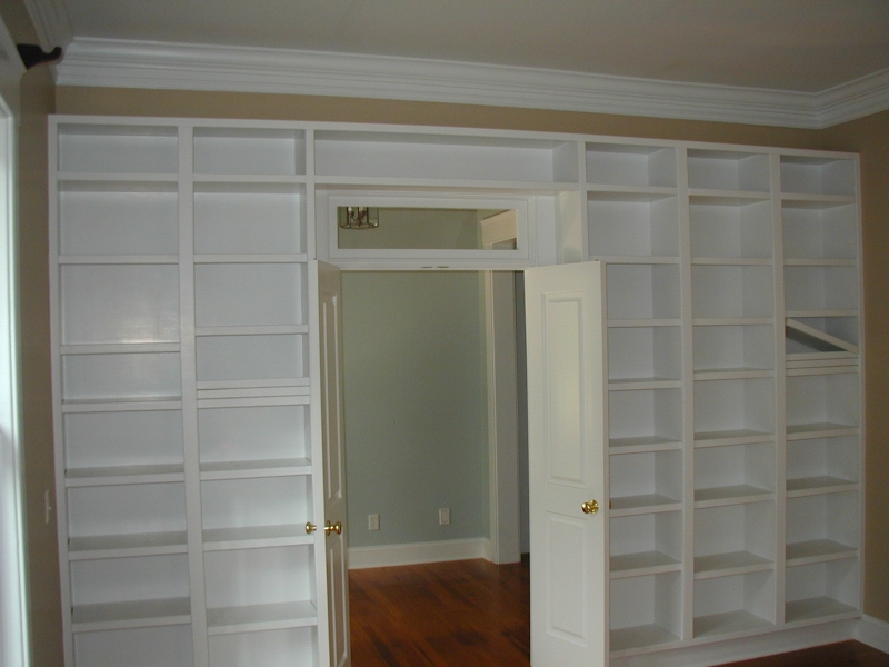 Built-In Shelving Detail