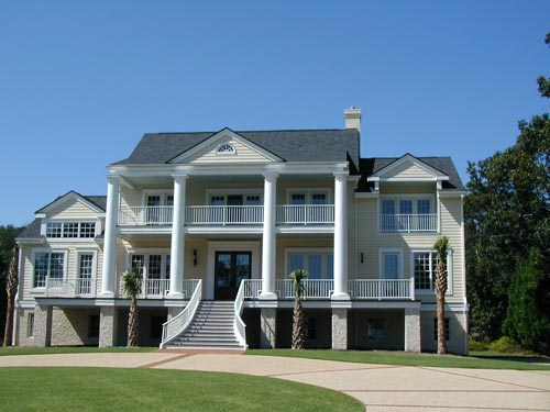 Exterior Painting, Wilmington Beach House