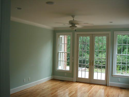 Interior Painting, Glass Doors and Windows