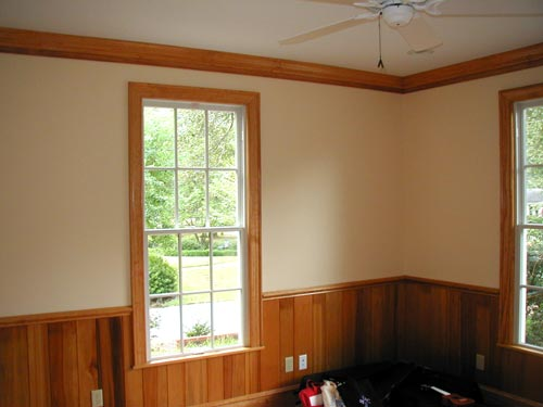 Interior Painting, Wainscoting