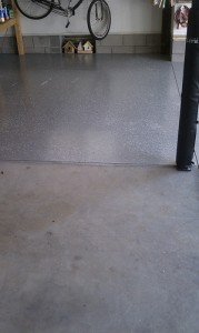 garage floor coatings and refinishing wilmington nc colour solutions. Black Bedroom Furniture Sets. Home Design Ideas