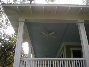 Painted Porch Floor And Ceiling In Wilmington Nc Colour