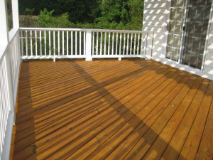Deck Staining And Painting In Time For Summer Colour Solutions